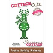 Holiday Reindeer Elites Die - Cottage Cutz