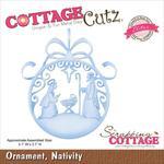 Nativity Ornament Elites Die - Cottage Cutz