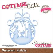 Nativity Ornament Elites Die - Cottage Cutz
