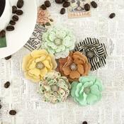 Espresso Paper Flowers - Coffee Break - Prima