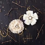 Luau Oahu Fabric Flowers - Prima