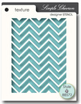 Simple Chevron Stencil - Memory Box
