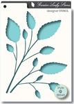 Leafy Stems Stencil - Memory Box