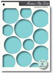 Pop Dots Stencil - Memory Box