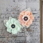 Spice Fairfield Fabric Flowers - Prima