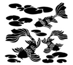 Koi Pond 12x12 Template - Crafter's Workshop