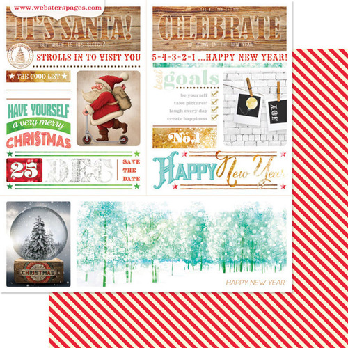 Newsletter Paper - All That Glitters - Webster's Pages