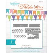Tape It Clear Stamps - Celebrations - Spellbinders