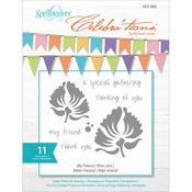 My Friend Clear Stamps - Celebrations - Spellbinders