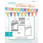 Fun Tags Stamps - Celebrations - Spellbinders