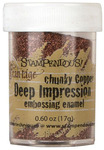Chunky Copper Deep Impression Embossing Enamel - Stampendous