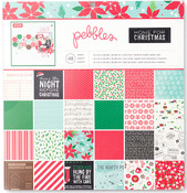 Home For Christmas 12 x 12 Paper Pad - Pebbles