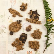 Forever Green Cork Stickers - Prima
