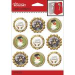 Holiday Baubles Repeat Stickers - Jolee's Boutique