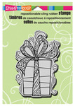 Penpattern Gift Christmas Cling Stamp - Stampendous