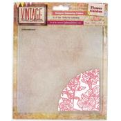 Flower Garden Embossalicious Embossing Folder - Crafters Companion