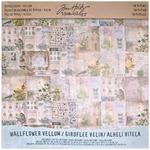 Wallflower Vellum 12 x 12 Paper Pad - Tim Holtz