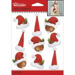 Santa Repeats Stickers - Jolee's Boutique