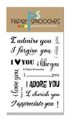 I Blank You Clear Stamps - Paper Smooches