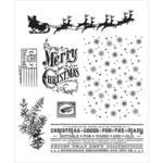 Christmas Nostalgia Rubber Stamps - Tim Holtz