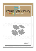 Leaves 1 Wise Dies - Paper Smooches