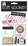 Insta Love Soft Spoken Embellishments - Me And My BIG Ideas