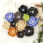 Hybrid Paper Flowers - Forever Green - Prima