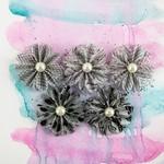 Domino Printed Vellum Flowers - Juno - Prima