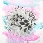 Pepper Printed Vellum Flowers - Juno - Prima