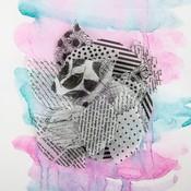 Dalmatian Printed Paper Leaves - Juno - Prima
