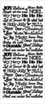 Tiny Christmas Words Dazzles Stickers