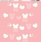 Bundle Of Joy Pink Paper #9 - Ella & Viv