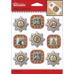 Holiday Frames Repeat Stickers - Jolees Boutique