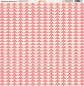 Pink Blush Patterns Paper #2 - Ella & Viv