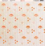 Tribal Tie Dye Paper #11 - Ella & Viv
