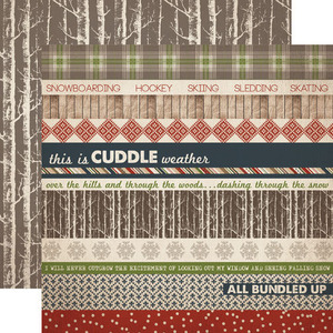 Border Strip Paper - Warm and Cozy - Carta Bella