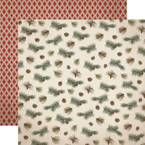 Pine Branches Paper - Warm and Cozy - Carta Bella