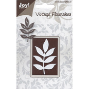 Vintage Flourish/Decorative Leaf Branch - Joy! Crafts Cutting Die