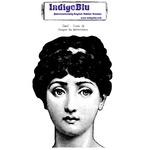 Jane - IndigoBlu Cling Mounted Stamp