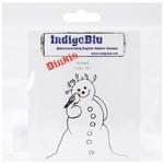 Snowman - IndigoBlu Cling Mounted Stamp