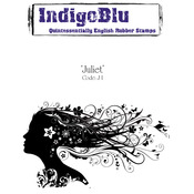 Juliet - IndigoBlu Cling Mounted Stamp