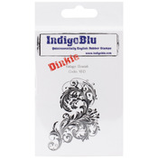 Vintage Flourish - IndigoBlu Cling Mounted Stamp