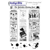 Yorkshire Evening Post - IndigoBlu Cling Mounted Stamp