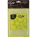 """Corner Floral - CGull Embossing Folder 5""""X7"""""""