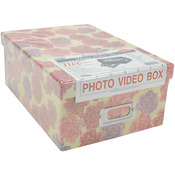 "4.5""X8""X11.5"" Assorted Designs - Photo Storage Box"