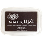 Rich Cocoa - Memento Luxe Full Size Ink Pad