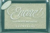 Champagne Encore Ultimate Metallic Ink Pad
