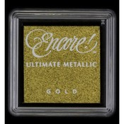 Gold - Encore Ultimate Metallic Small Ink Pad