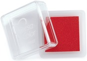 "Scarlet - VersaColor Pigment Ink Pad 1"" Cube"