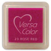"""Rose Red - VersaColor Pigment Ink Pad 1"""" Cube"""